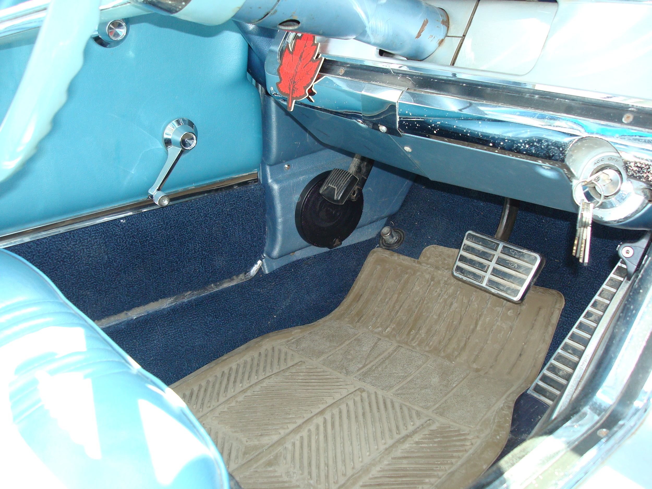 1964 Thunderbird - JL Audio Kick Panel Speakers