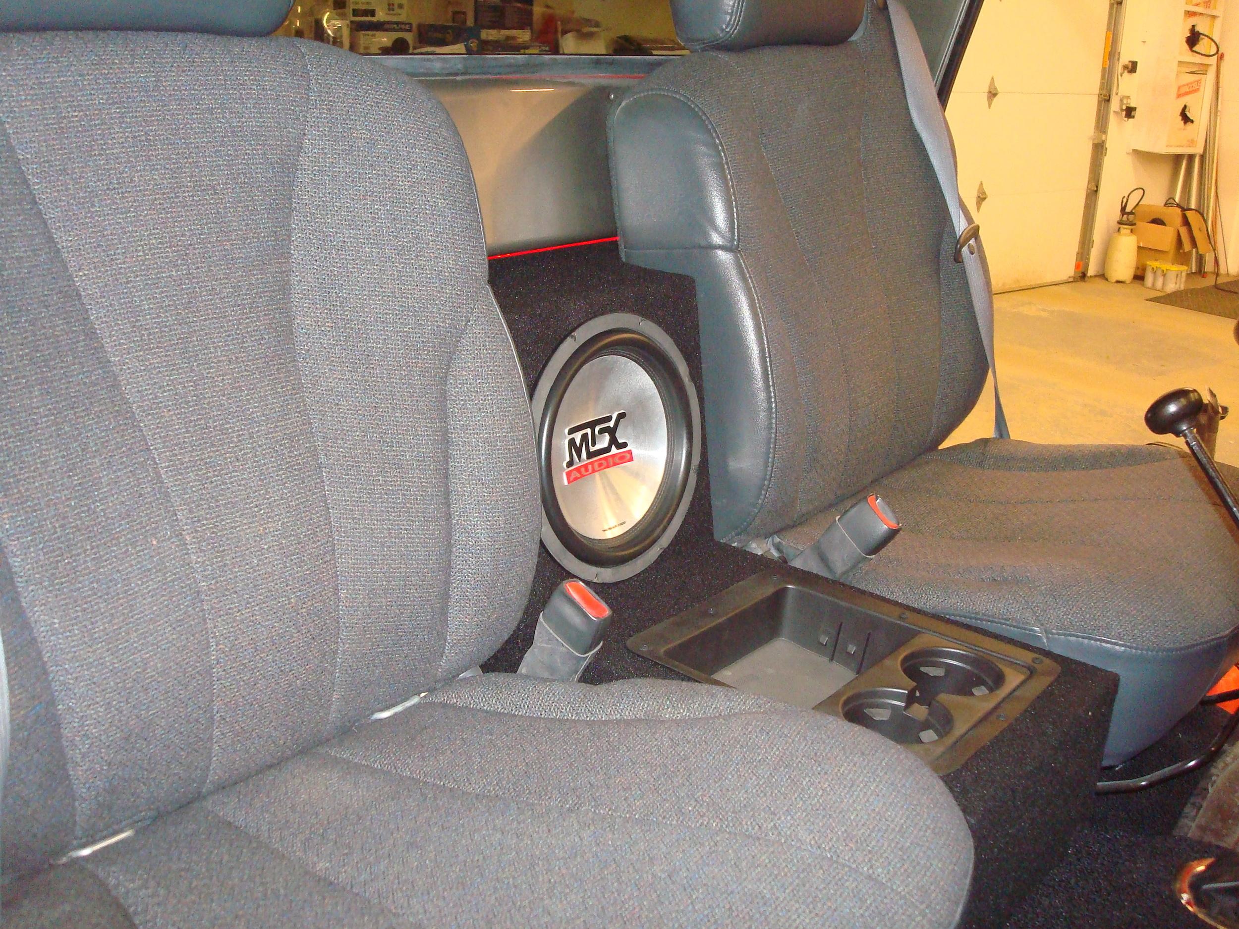 1964 Chevy K10 - Custom Console & Speaker Enclosure