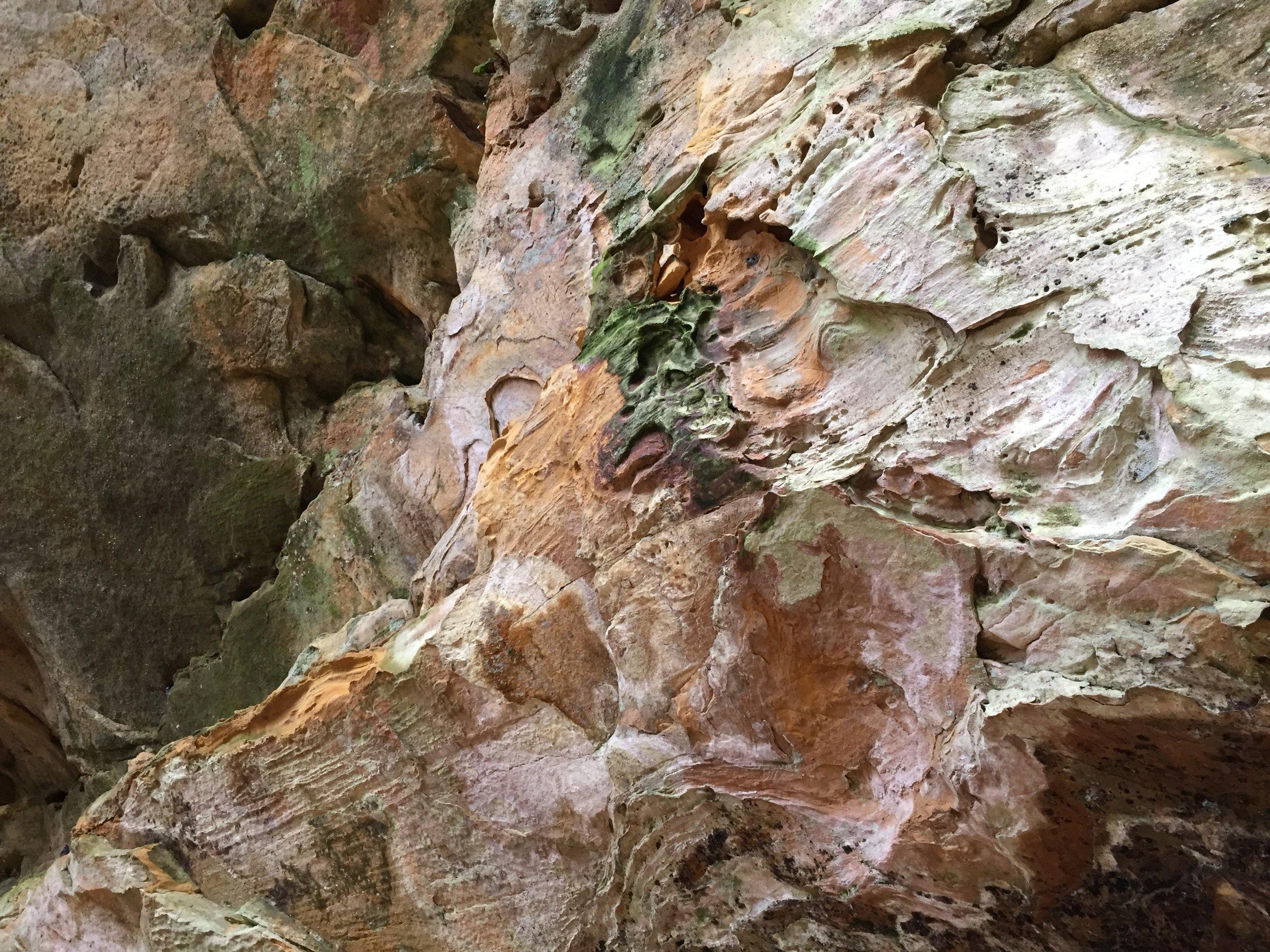 Cave colors