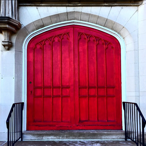 Afternoon Walks and Bright Red doors.png