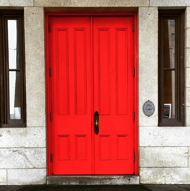 Morning Galleries and bright Red doors.png