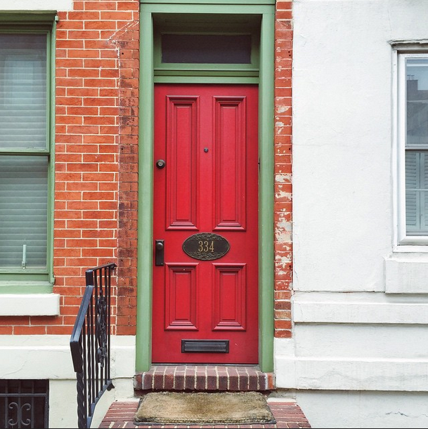 Rittenhouse Mornings and Bright Red doors.png