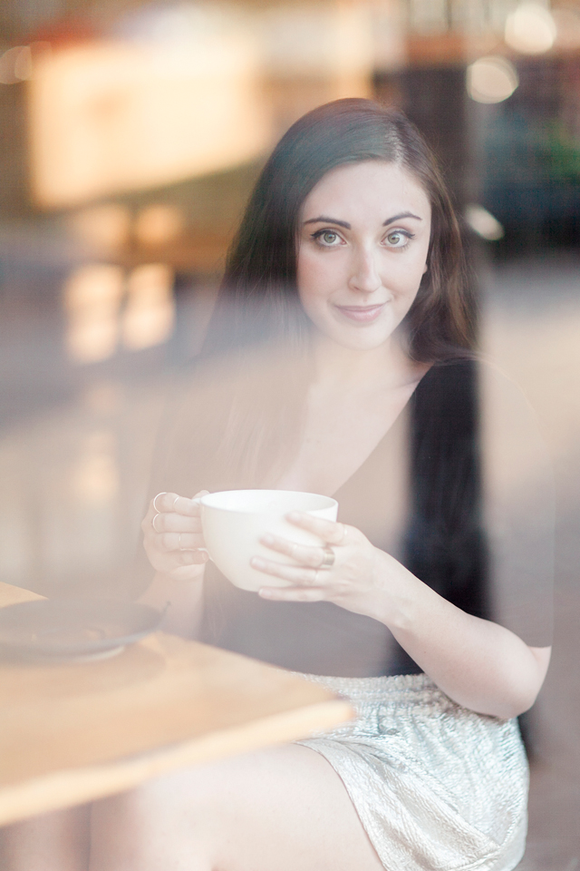 coffee-talk-anthropologie-metallic-shorts-closeup