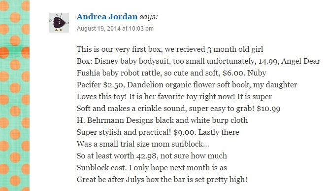 Thanks for your positive feedback, so glad you enjoyed your box's contents!
