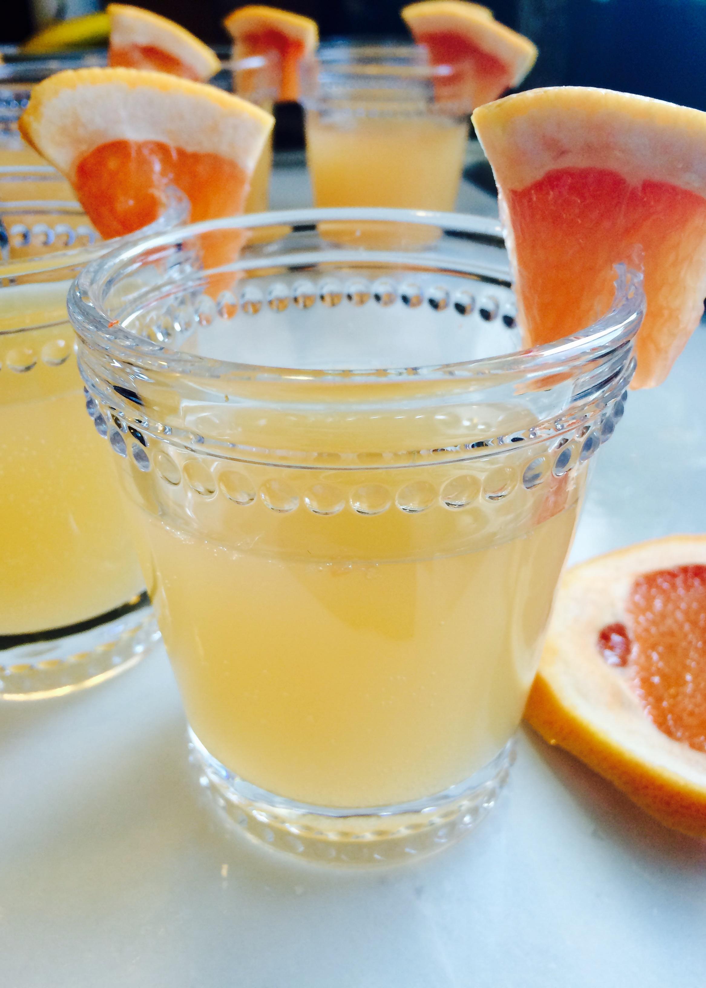 Sparkling grapefruit  moscato