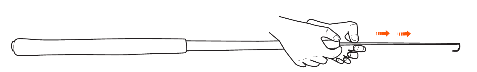 WETFLY Extend Tankara Rod