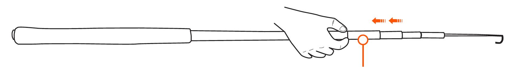 WETFLY Collapse Tenkara Rod