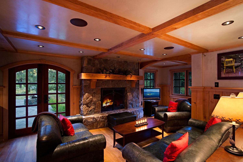 Pole Creek River Front Cabin - 2 Bedroom Home