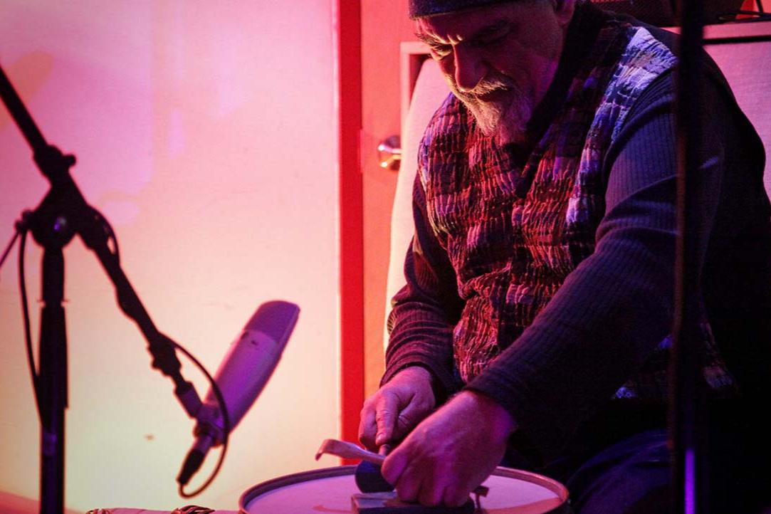Michael Zerang. Experimental Sound Studio, 2016.