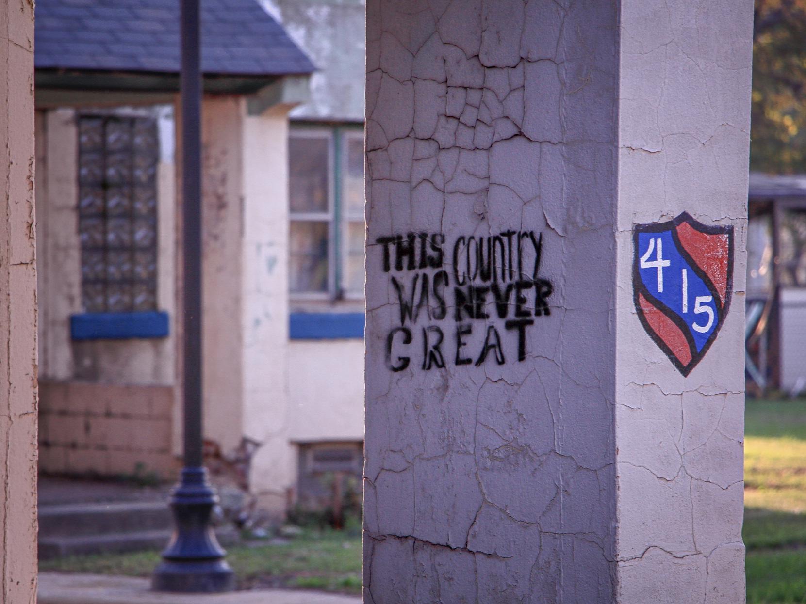 Graffiti. Marktown, IL, 2018.