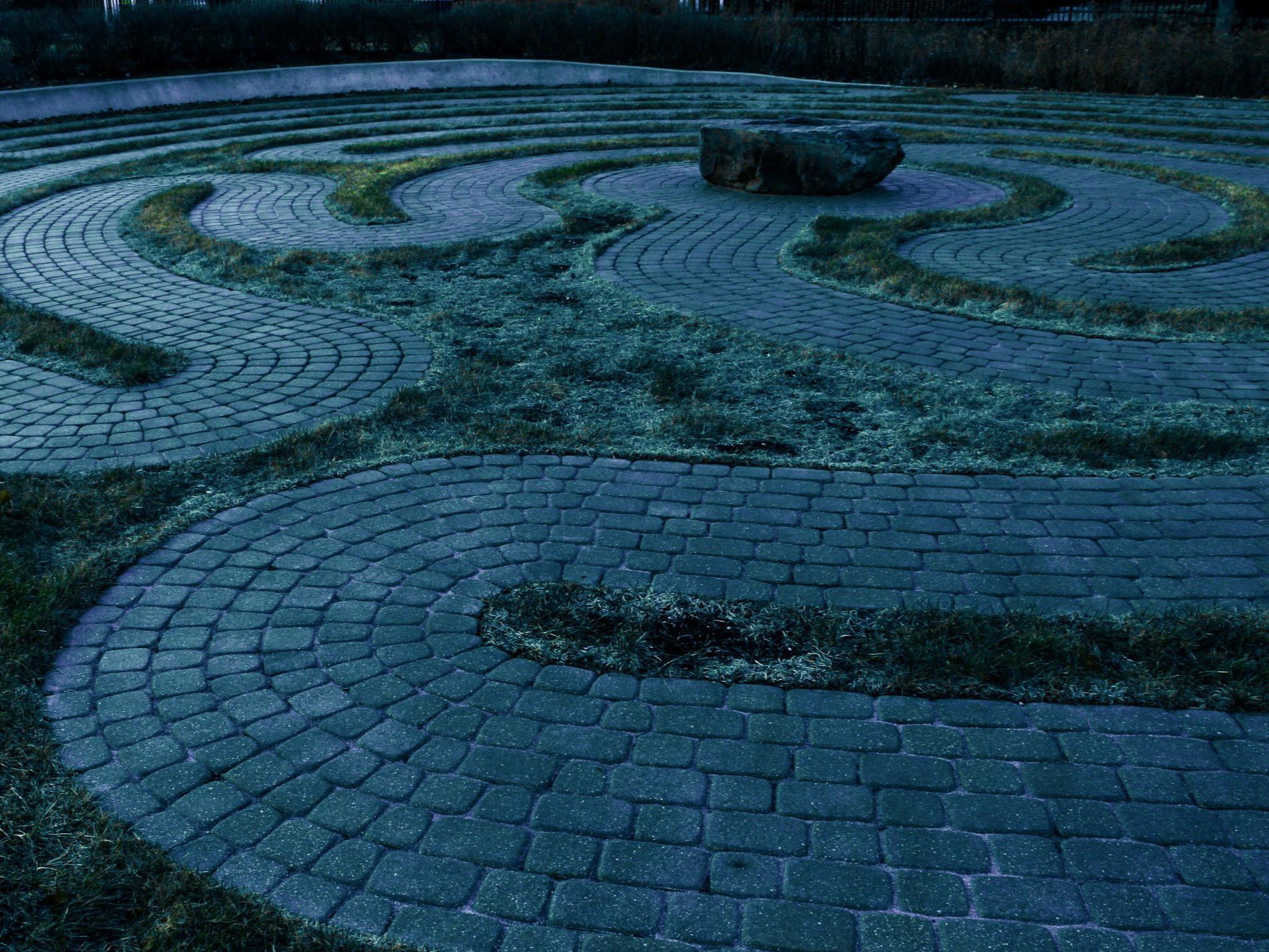 Community Prayer Labyrinth. Lake Zurich, IL, 2018.