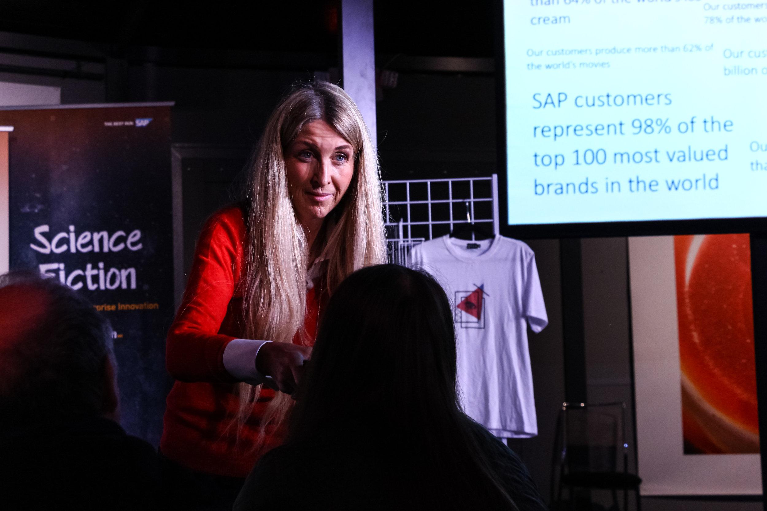 SAP Next-Gen's  Ann Rosenberg .