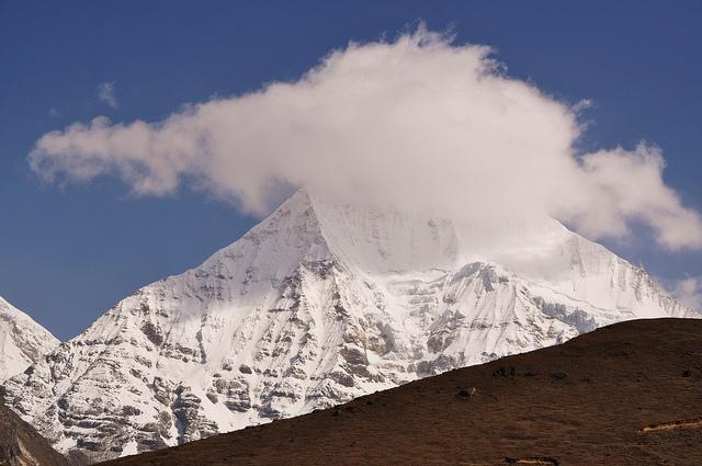Mountain landscape, Bhutan. Photo by Inga Vitola via Flickr CCL.