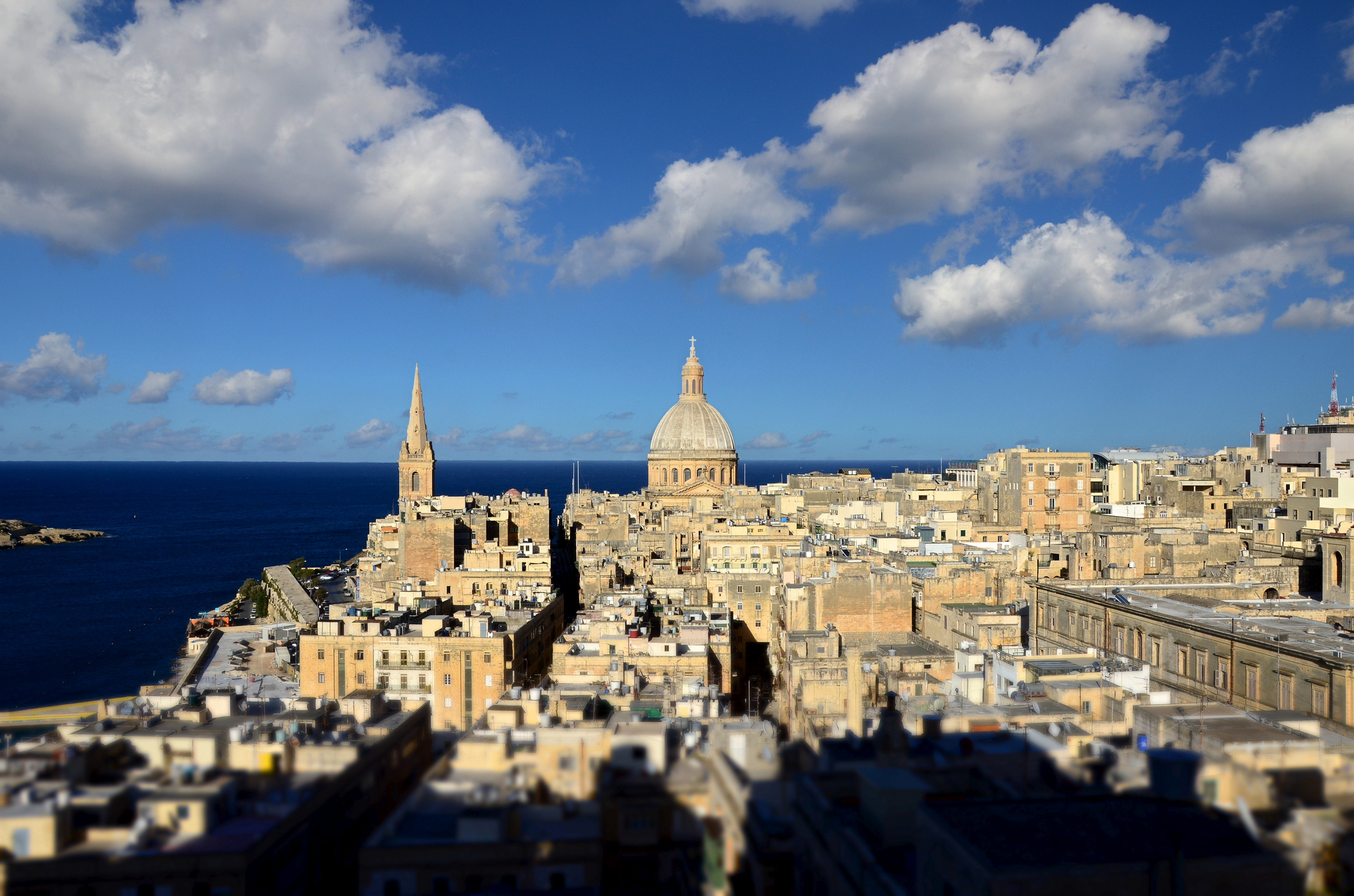 Valetta, Malta. Photo by  Andrea Santoni  via Flickr CCL
