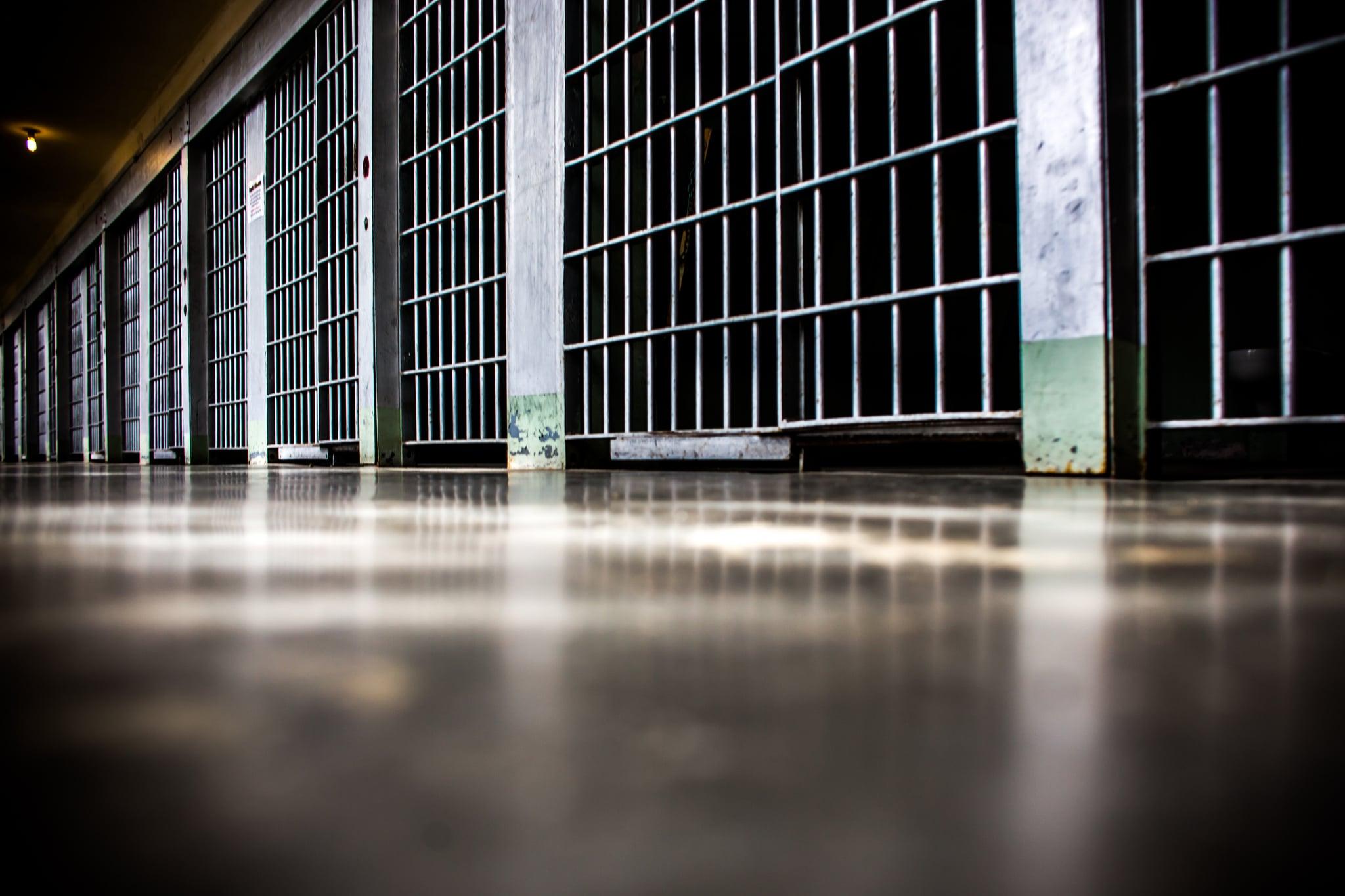 Prison Bound by  Thomas Hawk  via Flickr CCL.