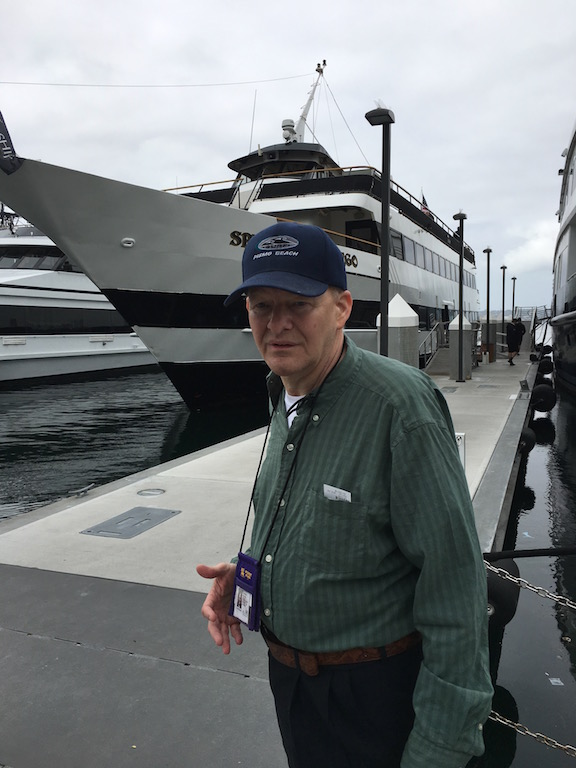 Bob at the San Diego Harbor