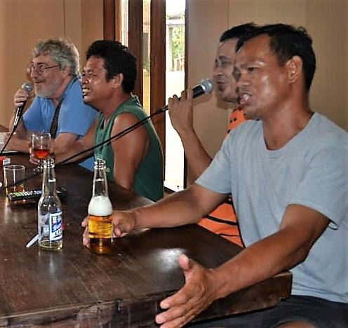 A group singalong.