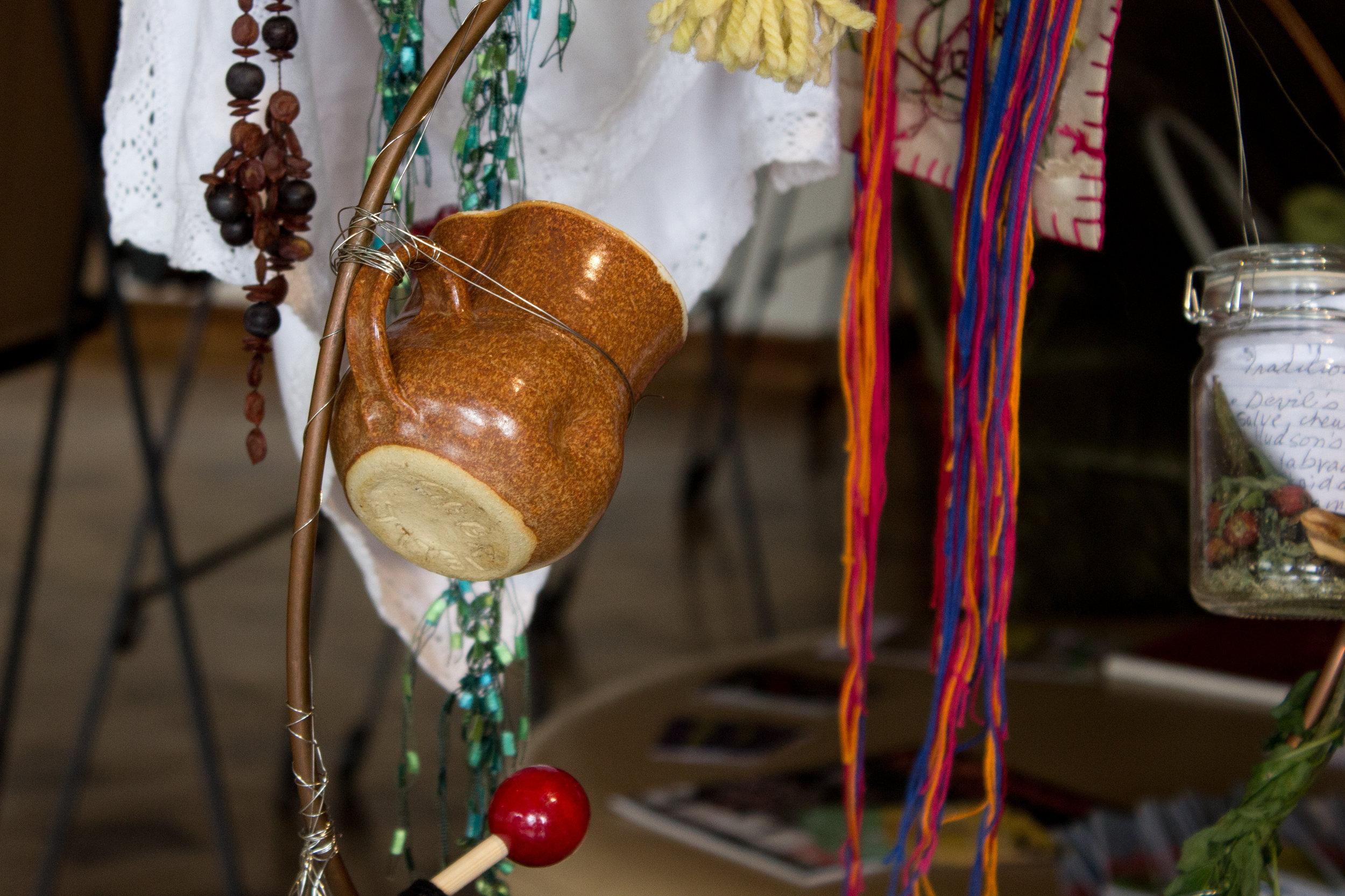 Sophie Bisping's contribution: her grandmother's tea mug.