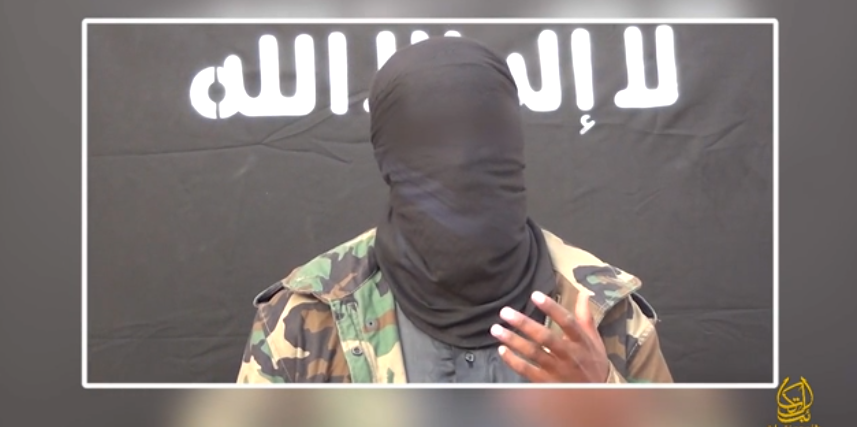 The man in the Al Shabaab video who did not threaten Mo Ansar.