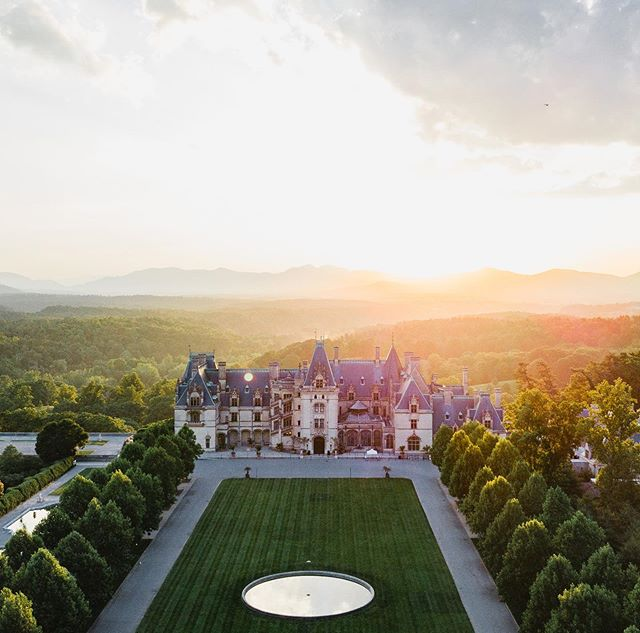 The Biltmore was an INCREDIBLE backdrop for Travis and Katie's wedding this past weekend in Asheville, NC