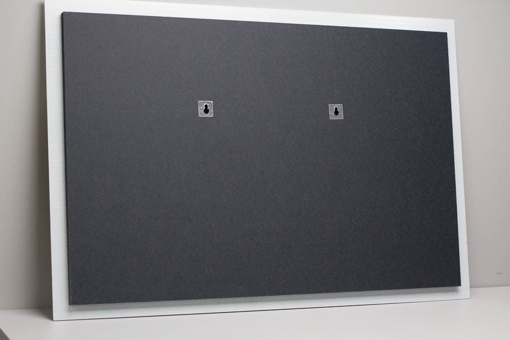 Floating wall mount.