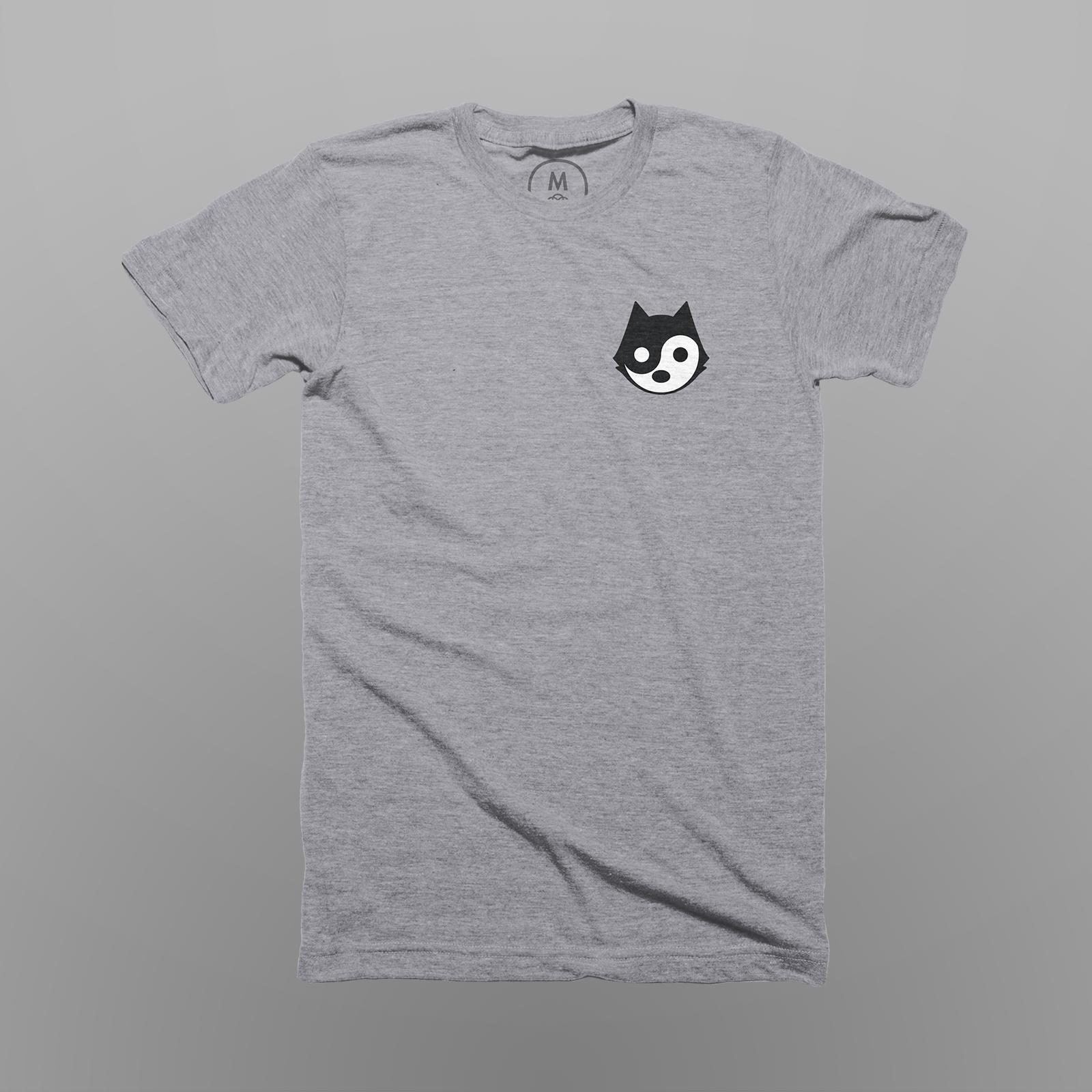 Yin Yang Cat -