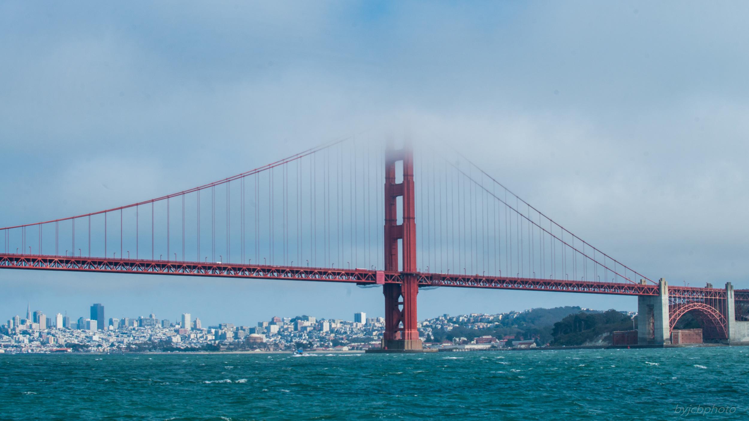 Golden Gate over San Francisco