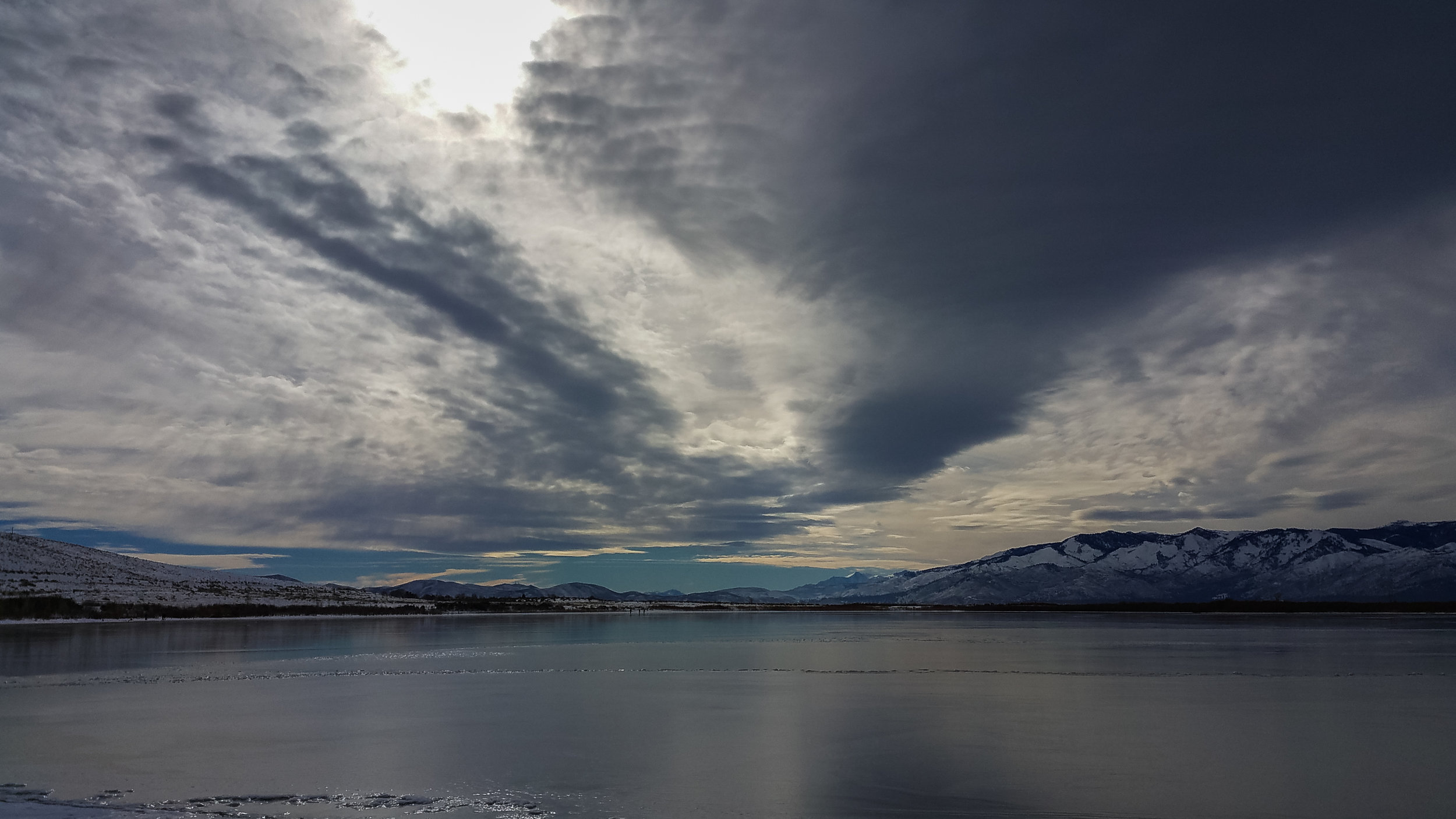Storm Approaches Over Little Washoe Lake, WAS (NV)