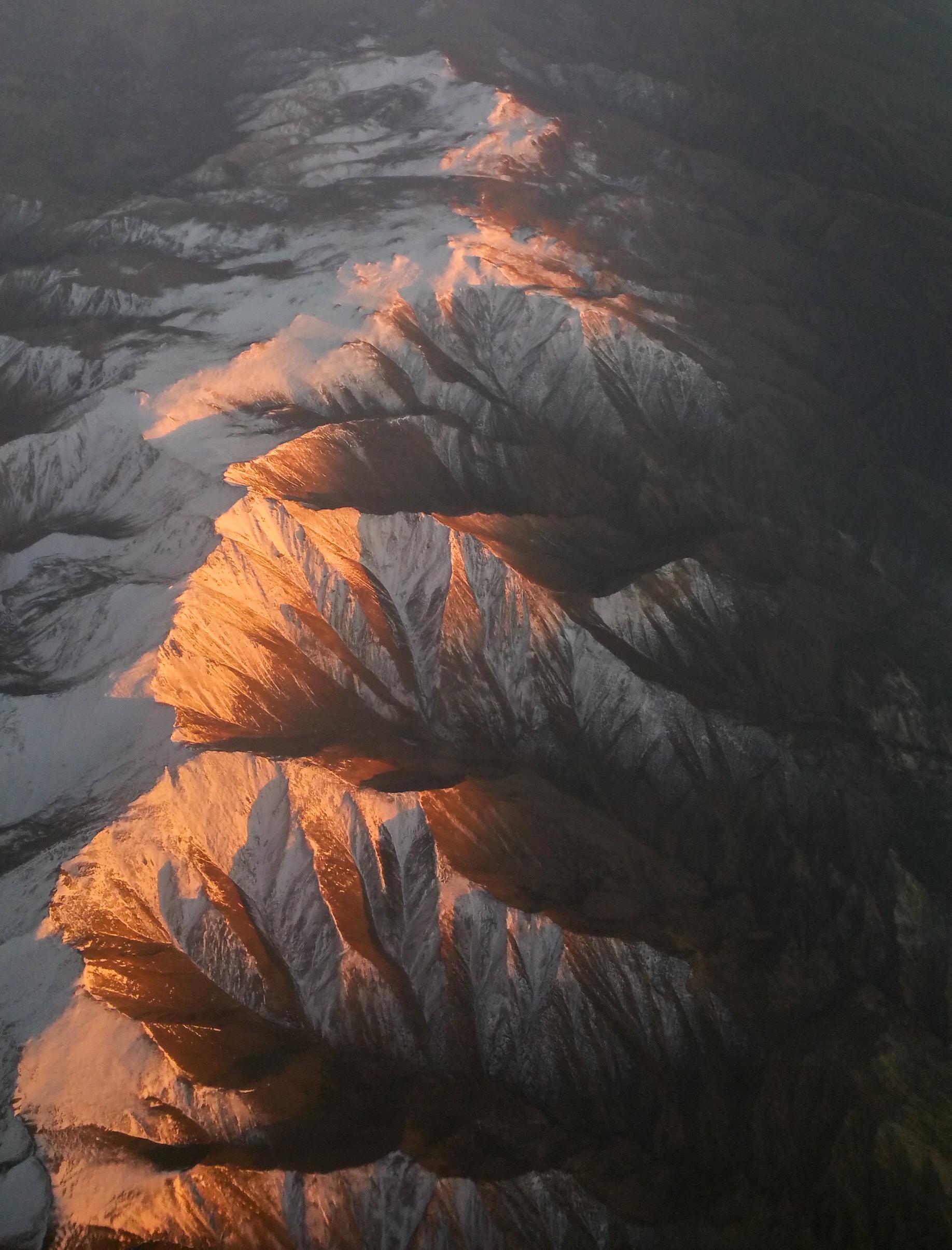 Fly over of Mt Siegel