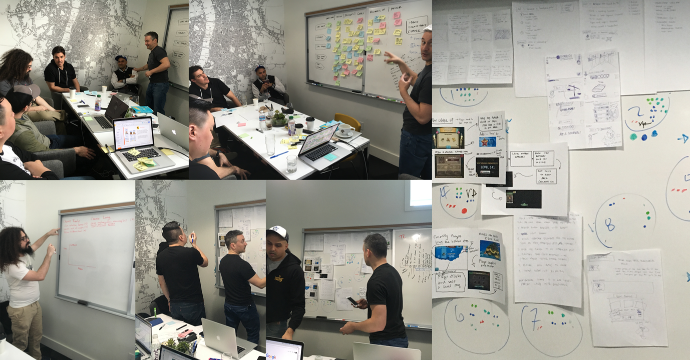 Implementing new UCD ideation processes inspired by  Google Design Sprints