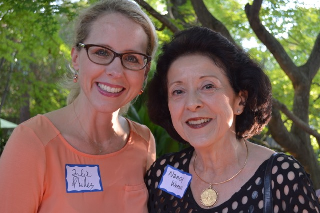 Julie Philley-Lee and Nancy Wrenn
