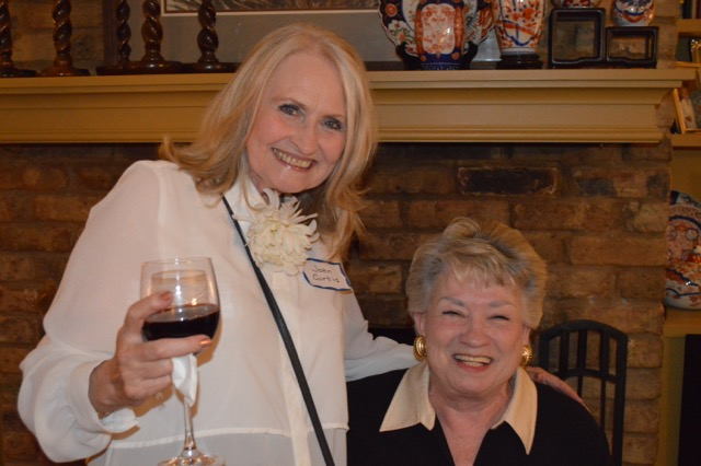 Joan Curtis and Sylvia Adams