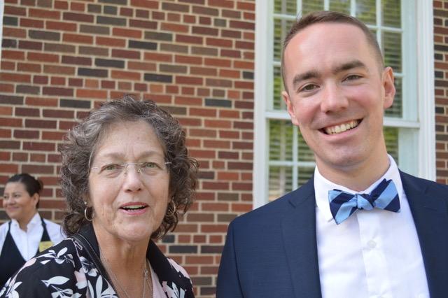 Phyllis Kidwell and Weston Jennings