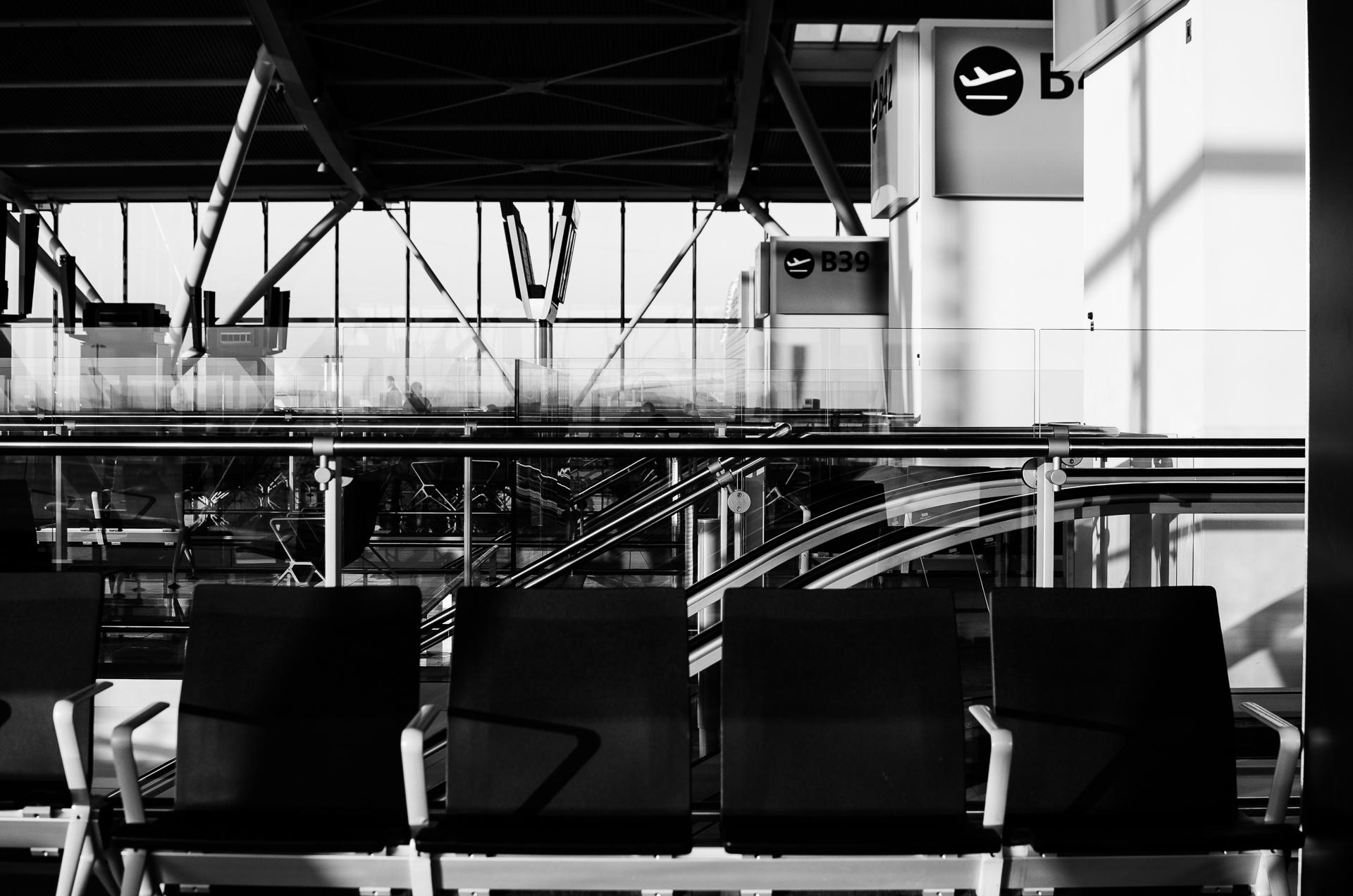 Departure gates, Heathrow T5