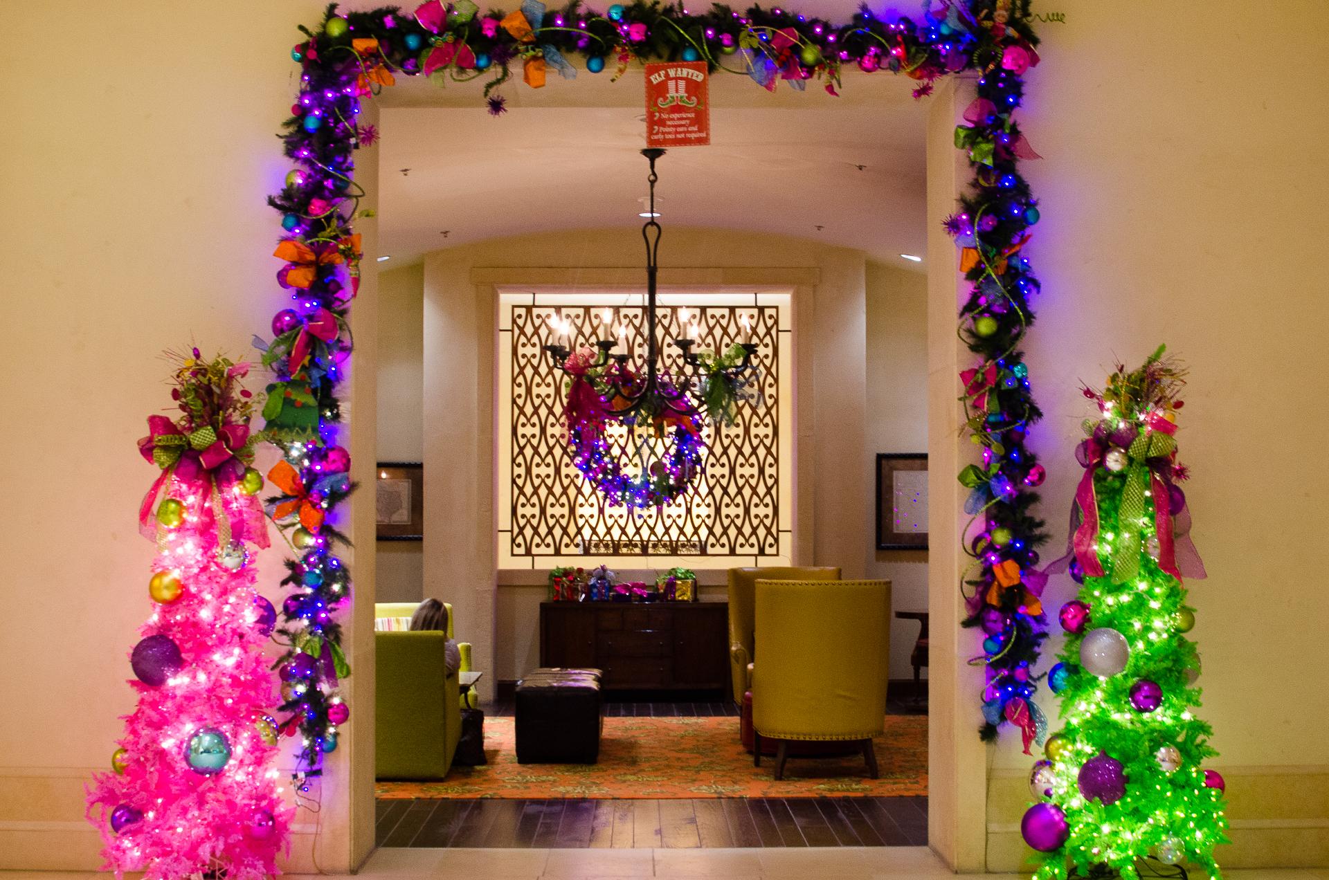 Lobby at the JW Marriott Resort, San Antonio