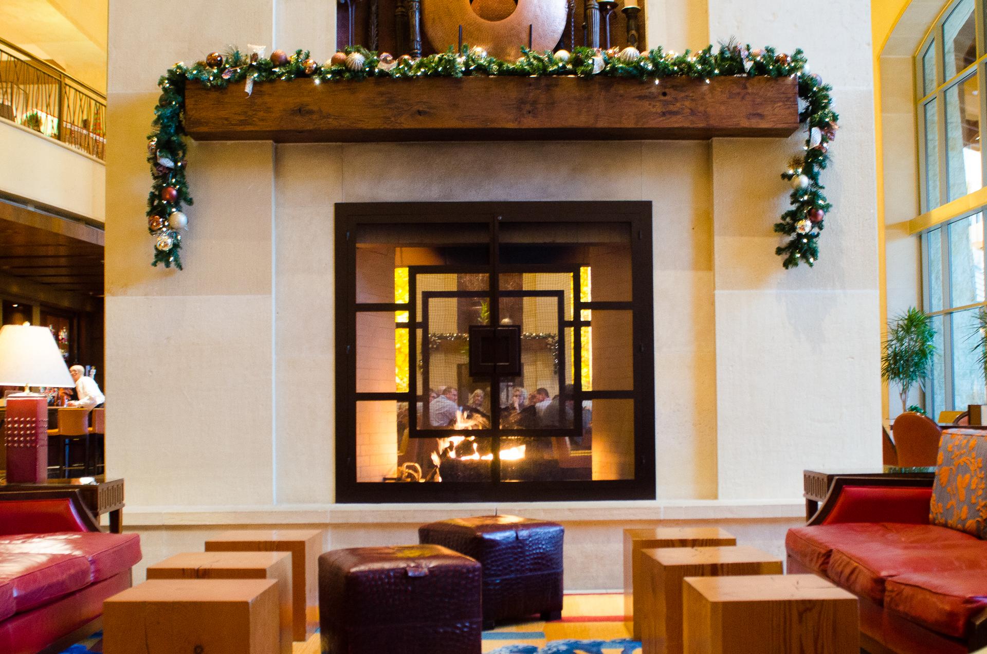 The bar at the JW Marriott Resort, San Antonio