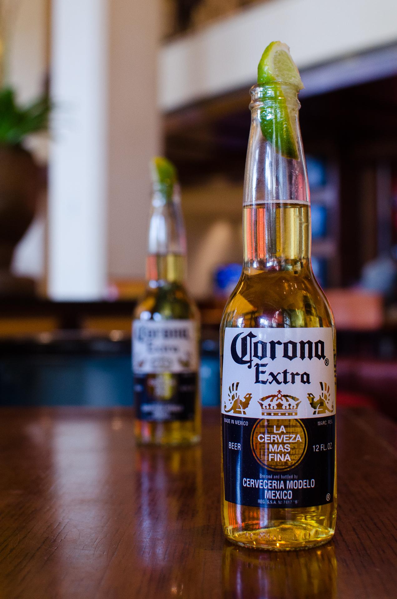 Last beer before home, bar at the JW Marriott Resort, San Antonio