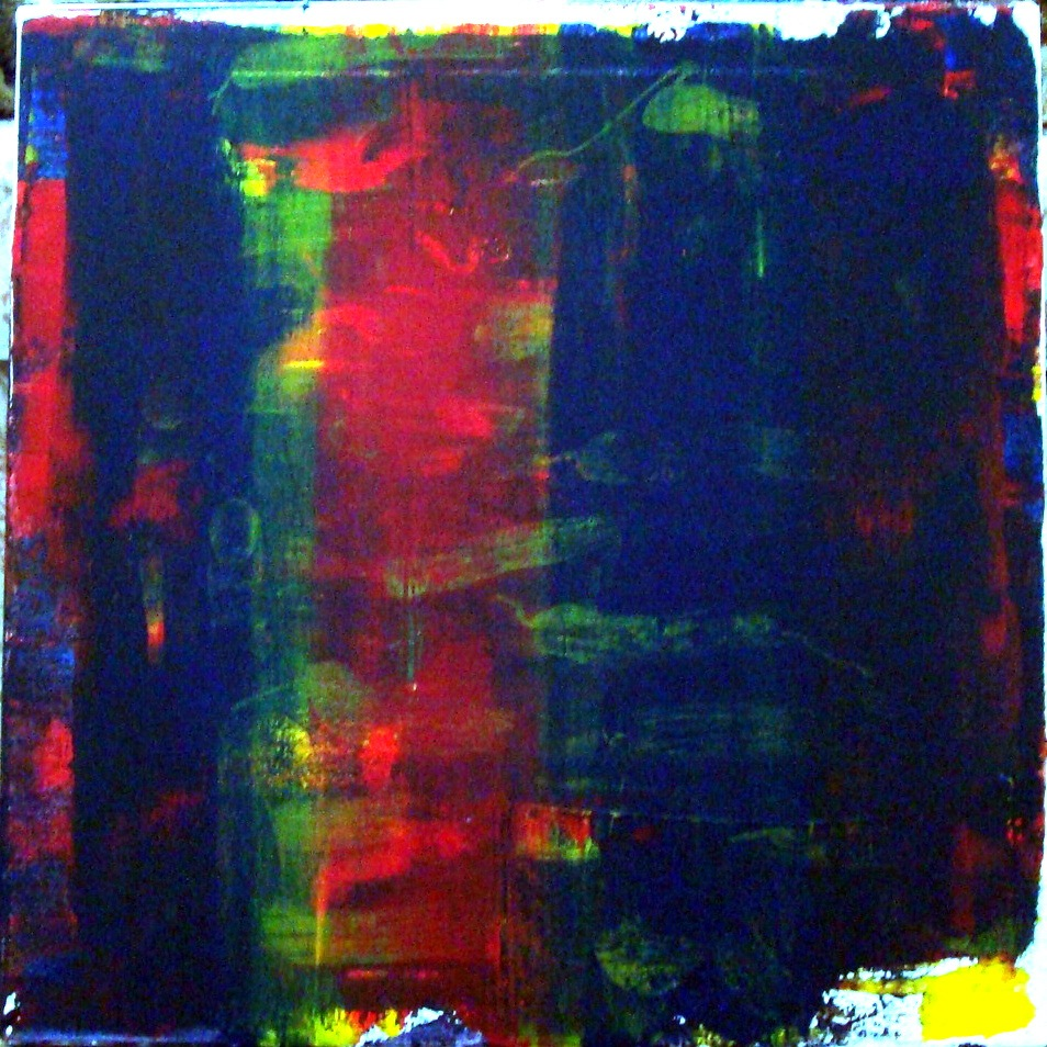 WHAT A DRAG #28, HOMAGE TO STAN BRAKHAGE - acrylic on canvas