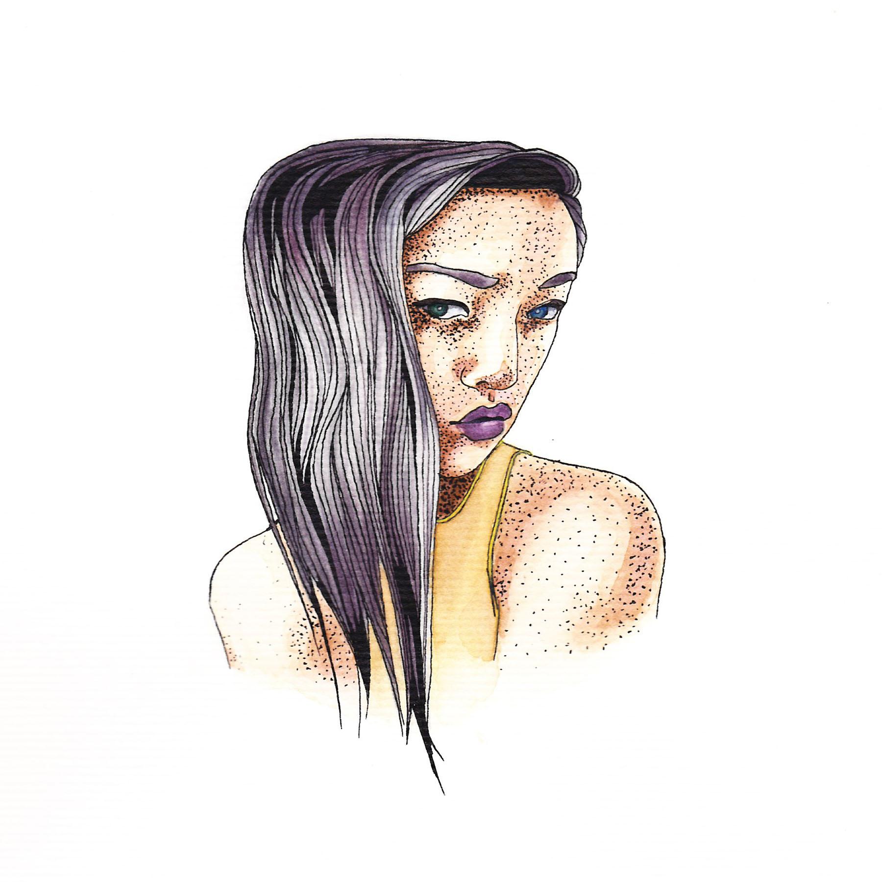 """watercolour, 4"""" x 5"""", 2015."""