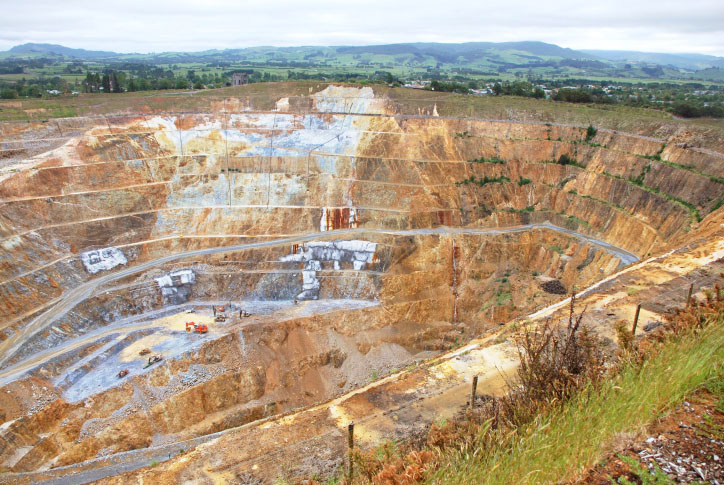 If everybody recycled more gold, there would be less of a need for open-pit gold mines like this one. Credit: jfoltyn/iStock.