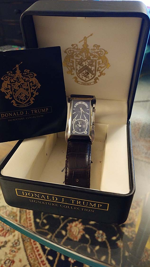 Will the Donald J. Trump Signature Collection watch be worth more as a collectible or melted down for gold scrap? Only time will tell.