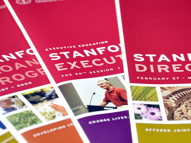 Stanford Graduate School of Business  marketing materials