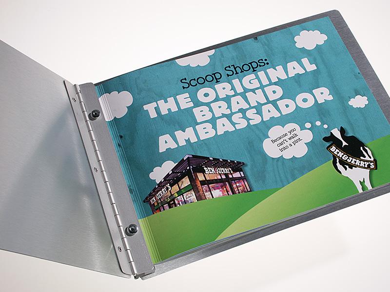 Ben & Jerry's  Brand Ambassador  book