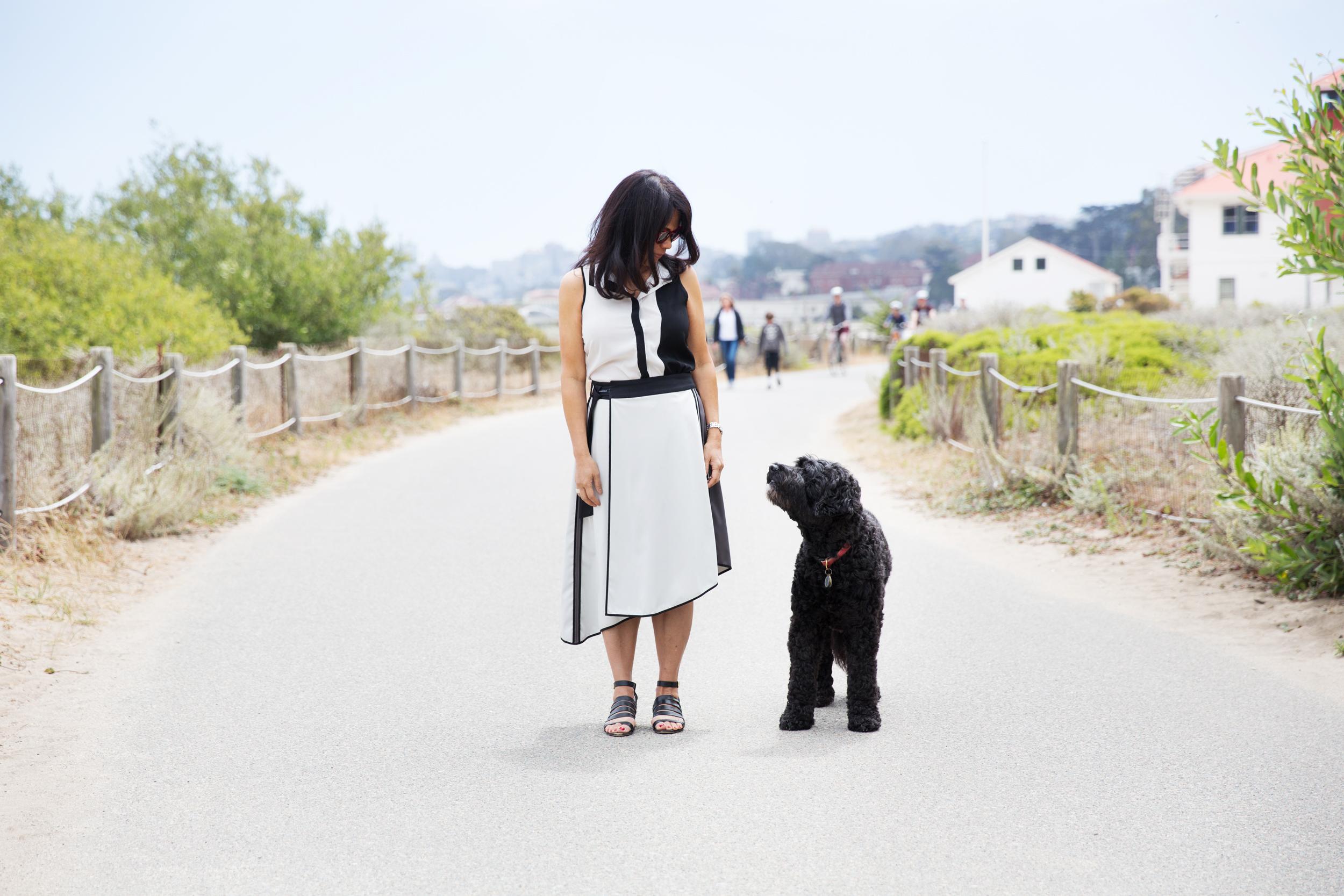 Niya Tunic  |  Sofia Convertible Skirt