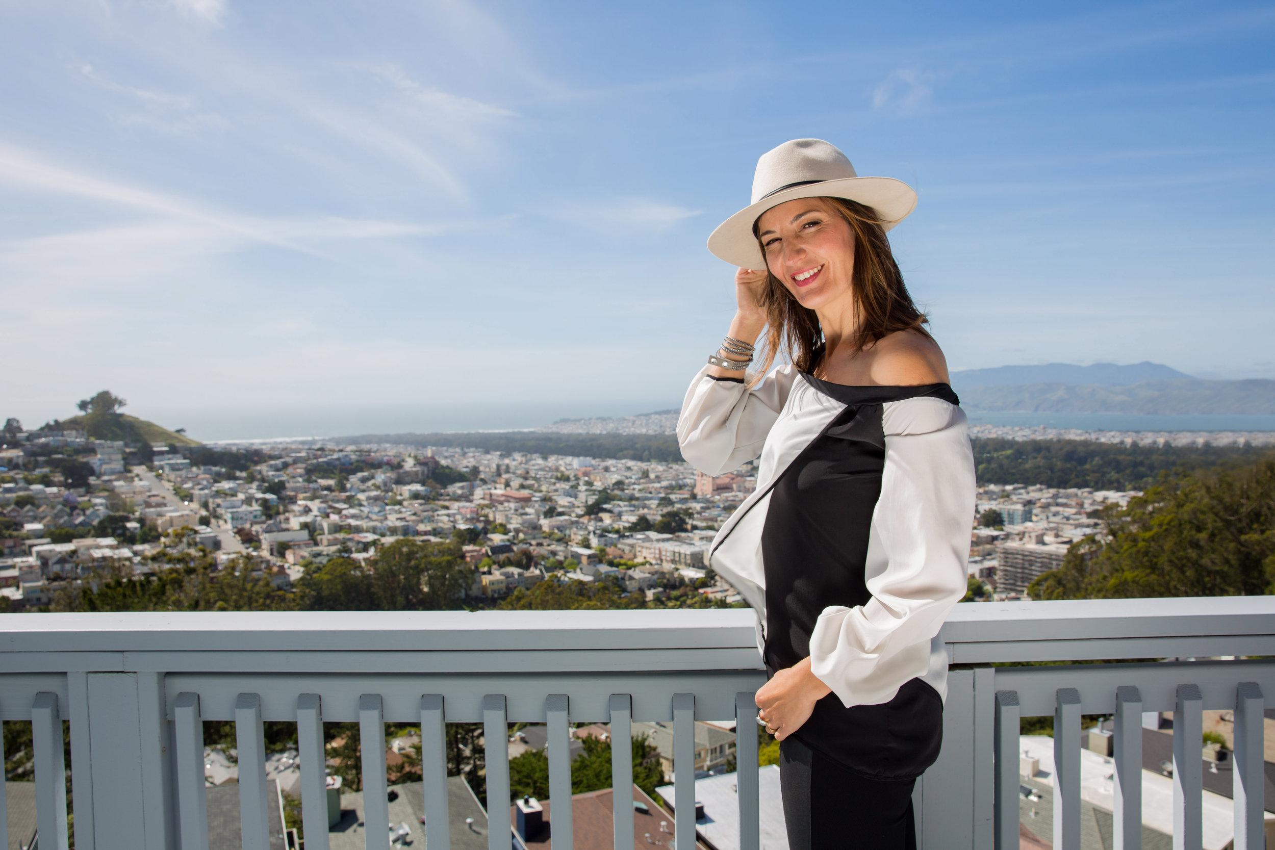 On Maria -  Rogue Hat  |  Alana Top