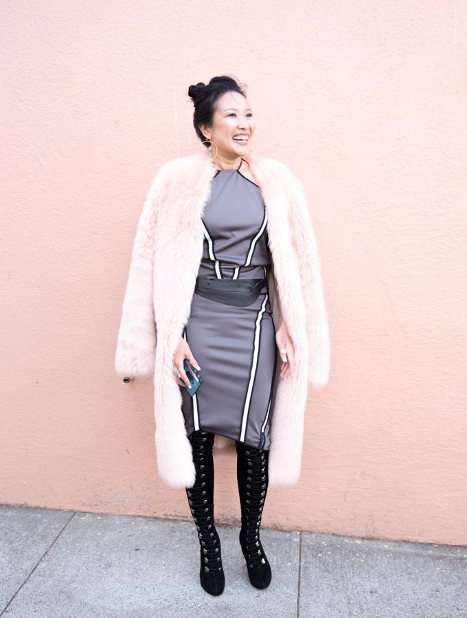 On Julie -  Zuria Reversible Halter Top | Brea Reversible Skirt  | Aya Belt | Eazzy