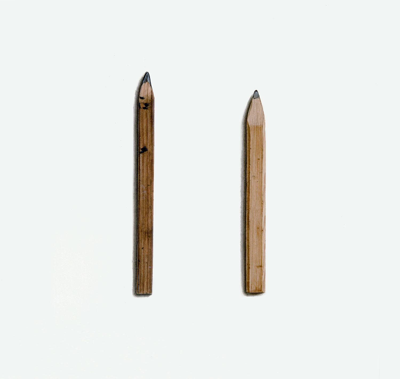 Two Carpenter's Pencils