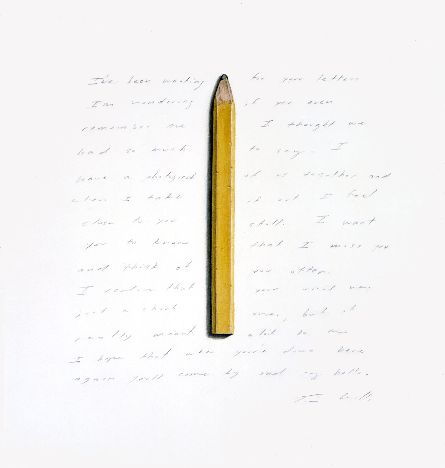 Yellow Carpenter's Pencil