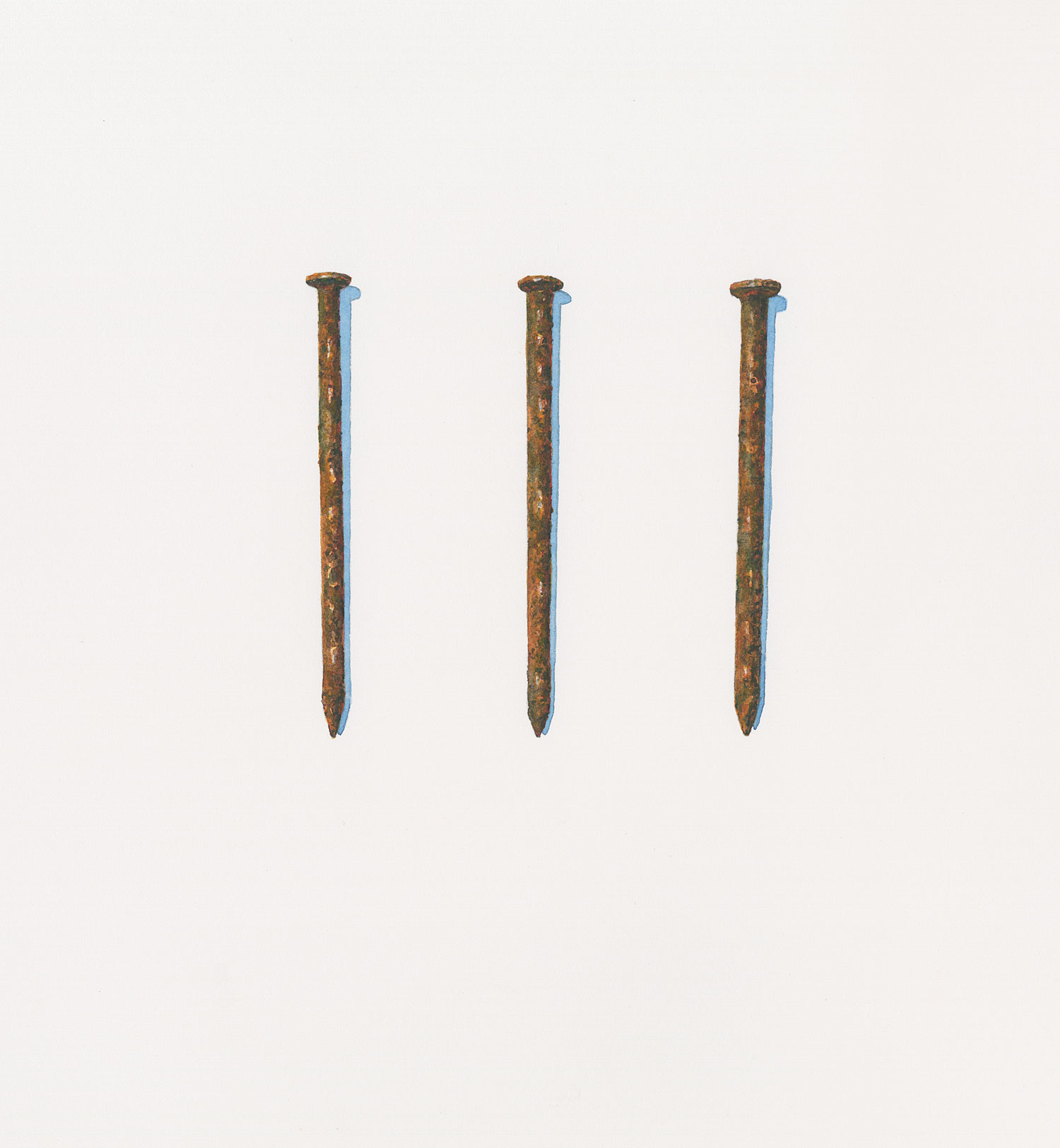 Three Rusty Nails