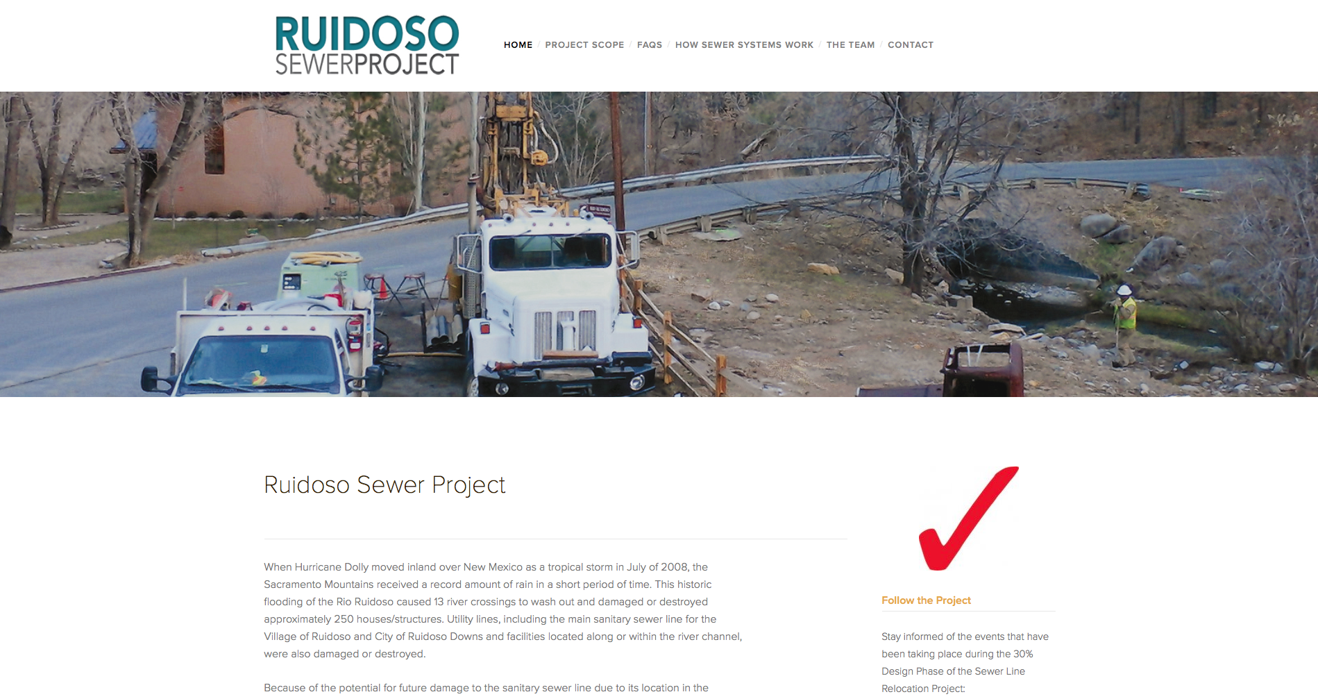 RuidosoSewerProject.com